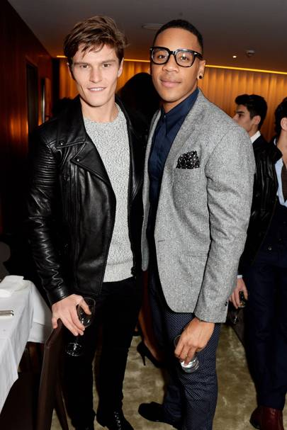 Oliver Cheshire and Reggie Yates