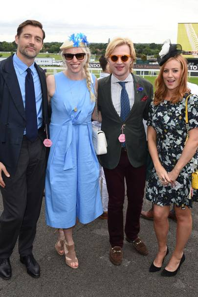 Patrick Grant, Emma Whitehair, Henry Conway and Sarah-Jane Mee