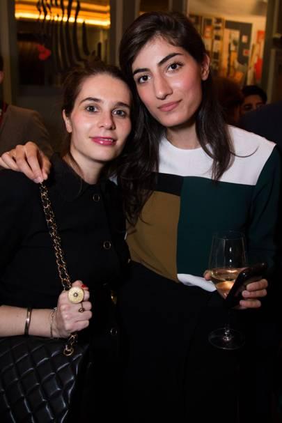 Florence Rolfe and Arta Ghanbari