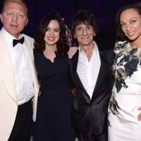 Boris Becker, Sally Humphries, Ronnie Wood and Sharlely Lilly Kerssenberg
