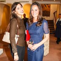 Antonia Packard and Pippa Middleton
