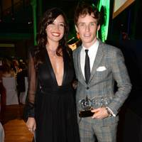 Daisy Lowe and Eddie Redmayne