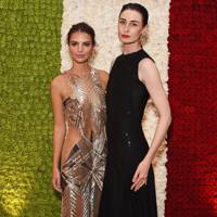 Emily Ratajkowski and Erin O'Connor