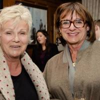 Julie Walters and Rosa Monckton