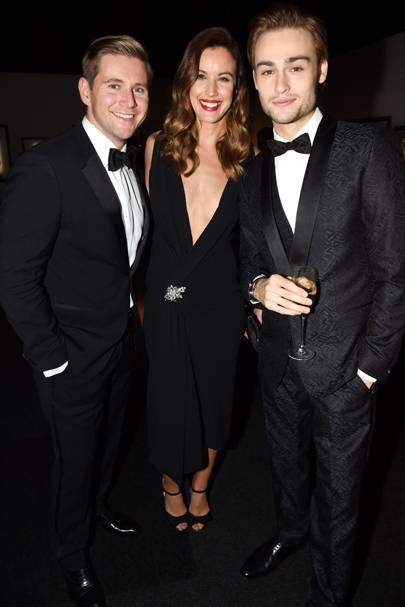 Allen Leech, Charlie Webster and Douglas Booth