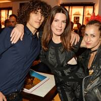 Max Dellal, Christina Estrada and Alice Dellal