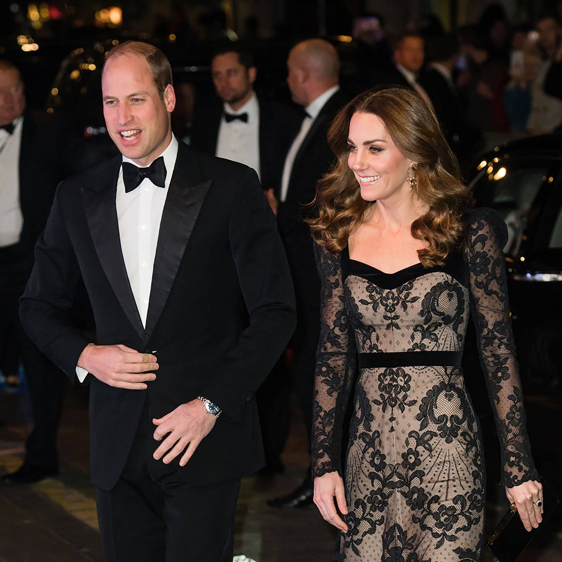 The Duke and Duchess of Cambridge dazzle at the Royal Variety Performance