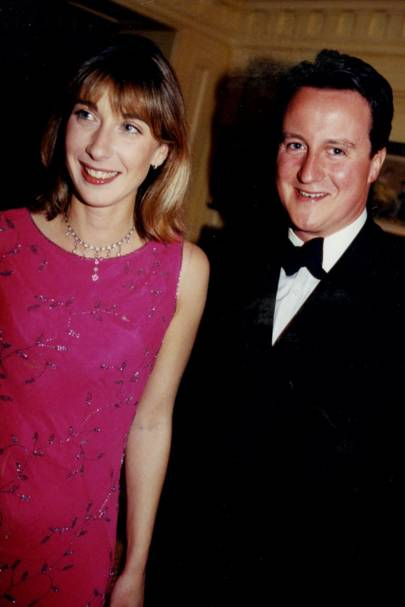 Mrs David Cameron and David Cameron