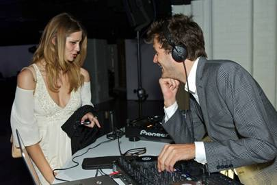 Mischa Barton and Isaac Ferry