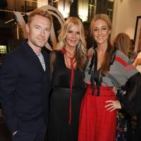 Ronan Keating, Amanda Wakeley and Storm Keating