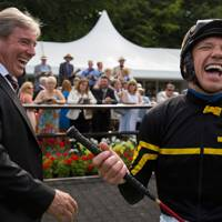 Wesley Ward and Frankie Dettori