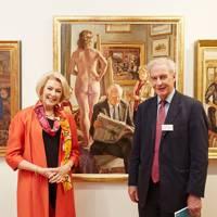 Diana Moran and Richard Foster