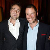 Ben Goldsmith and Dominic West