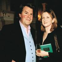 Ben Brown and Mrs George Osborne
