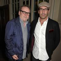Colm Meaney and Jon Hamm
