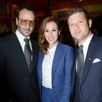 Tom Ford, Dee Koppang and Dermot O'Leary