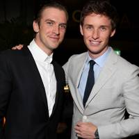 Dan Stevens and Eddie Redmayne
