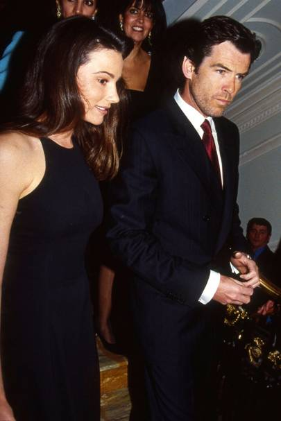 Keely Shaye-Smith and Pierce Brosnan