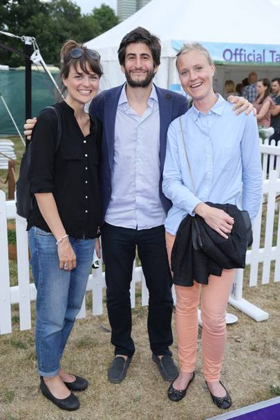 Lovisa Sunnerholm, Martin Temaglia and Martina Carlston