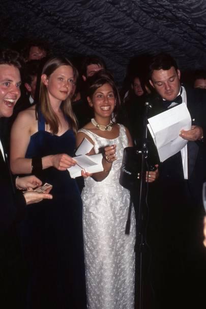 George Eddington, Maya Lyttelton, Claire Wylie and Nick Irvine