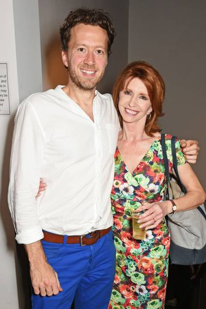 Jez Bond and Jane Asher