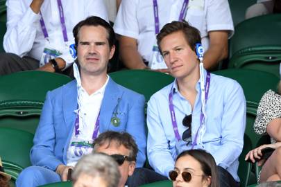 Jimmy Carr and Dave Clark