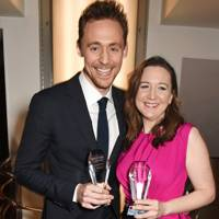 Josie Rourke and Tom Hiddleston