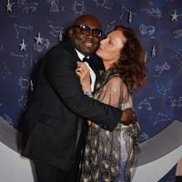 Edward Enninful and Diane von Furstenberg