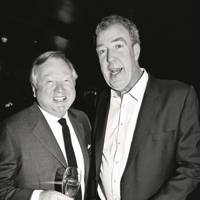 Sir Anthony Bamford and Jeremy Clarkson