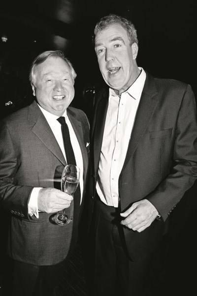 Sir Anthony Bamford and Jeremy Clarkson