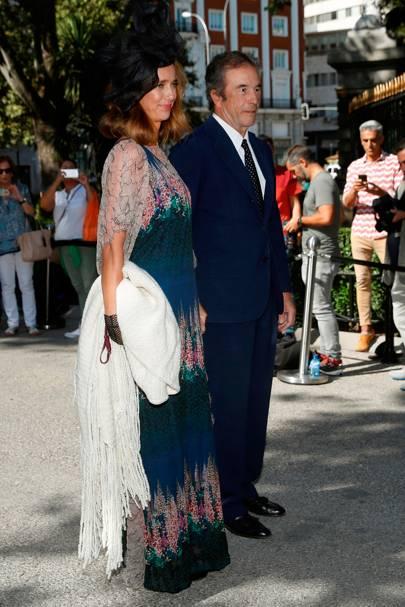 The Duchess of Alburquerque and the Duke of Alburquerque
