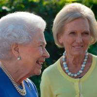The Queen and Mary Berry