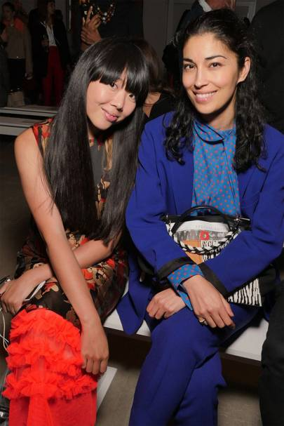 Susie Lau and Caroline Issa at Creatures of the Wind