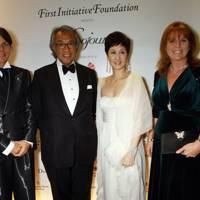 Lady Tang, Sir David Tang, Michelle Ong and Sarah Duchess of York