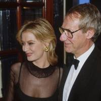 Samantha Norman and Barry Norman
