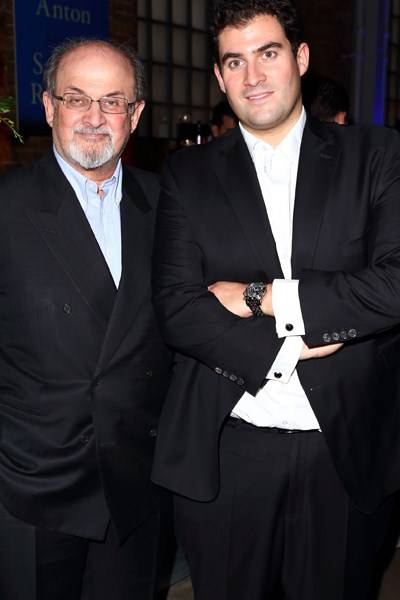 Sir Salman Rushdie and Zafar Rushdie