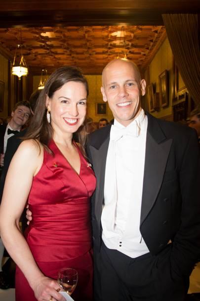 Fiona van Pallandt and John Carver