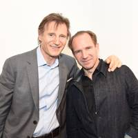 Liam Neeson and Ralph Fiennes