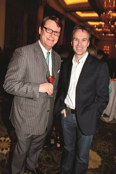 Jeremy Wayne and Marcus Wareing