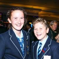 Ella Woolhouse and Alex Johnson
