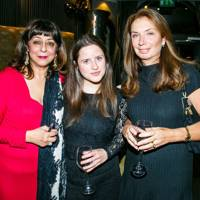 Lady Naipaul, Juliet Conway and Nancy Sladek