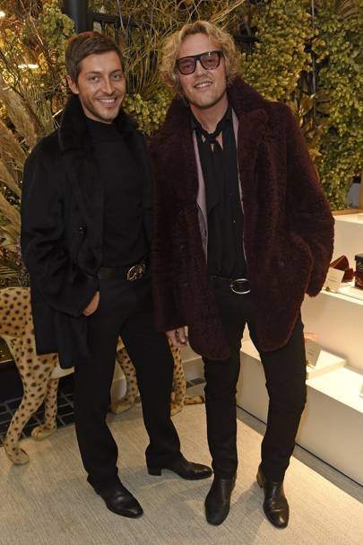 Ev Bousis and Peter Dundas