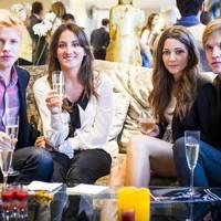 Justin Girdler, Nicholette Moone, Rowena Auld and Jamie Girdler