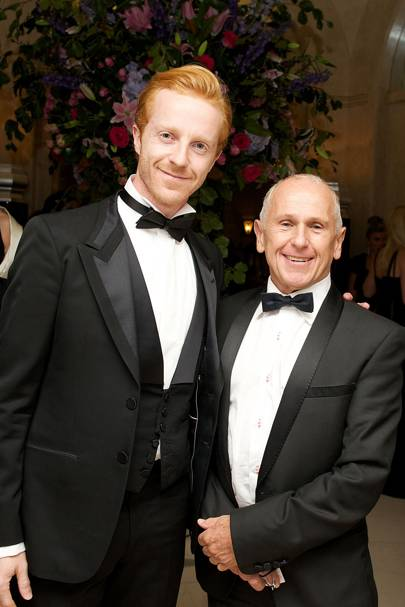 Steven McRae and Wayne Sleep
