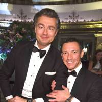 Laurent Feniou and Frankie Dettori