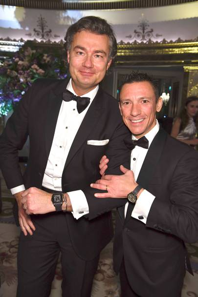 Laurent Feniou and Frankie Dettori