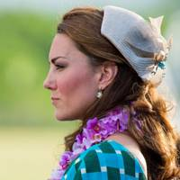 The Duchess of Cambridge wearing Jane Taylor in the Solomon Islands