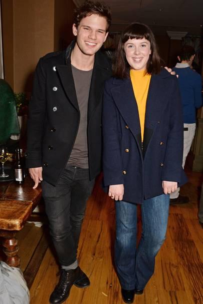 Jeremy Irvine and Alexandra Roach