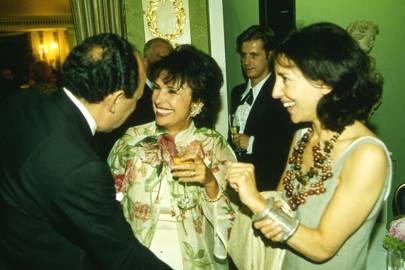 Aziz Radwan, Lady Powell and the Hon Mrs Danilovich