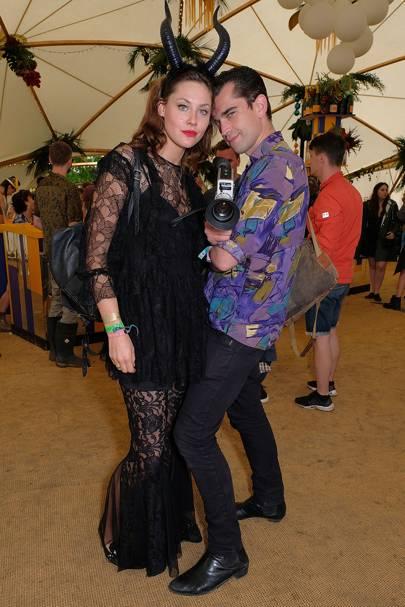 Martine Lervik and James Kelly